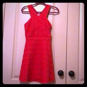 Mini Sugarlips Orange Dress, Size S